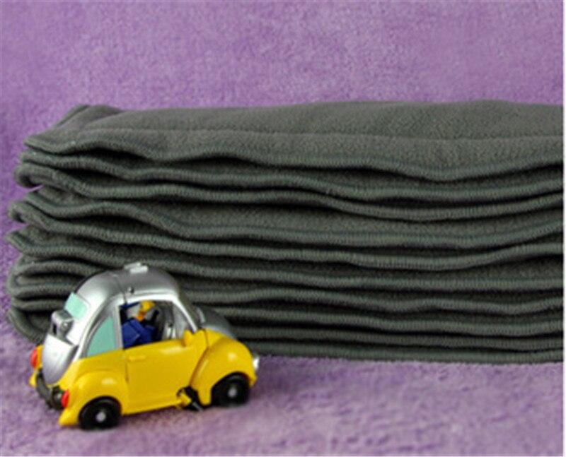 1 шт. качество детские подгузники бамбуковый уголь лайнер ѕодставки дл¤ ребенка ткань пеленки натурального бамбука ћатериал моющиес¤ 4 сло¤