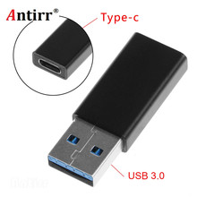 ФОТО usb-c type c female to type a usb 3.0 male converter connector adapter for usb c to usb cable drop shipping