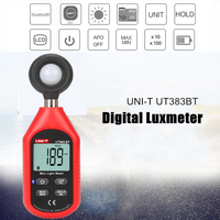 New Arrival 2018 Portable USB Digital Luxmeter Light Meter Lux Meter bluetooth Luminometer Photometer 200,000 Lux High Quality