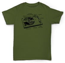 Record Player / Turntable Parts T-shirt