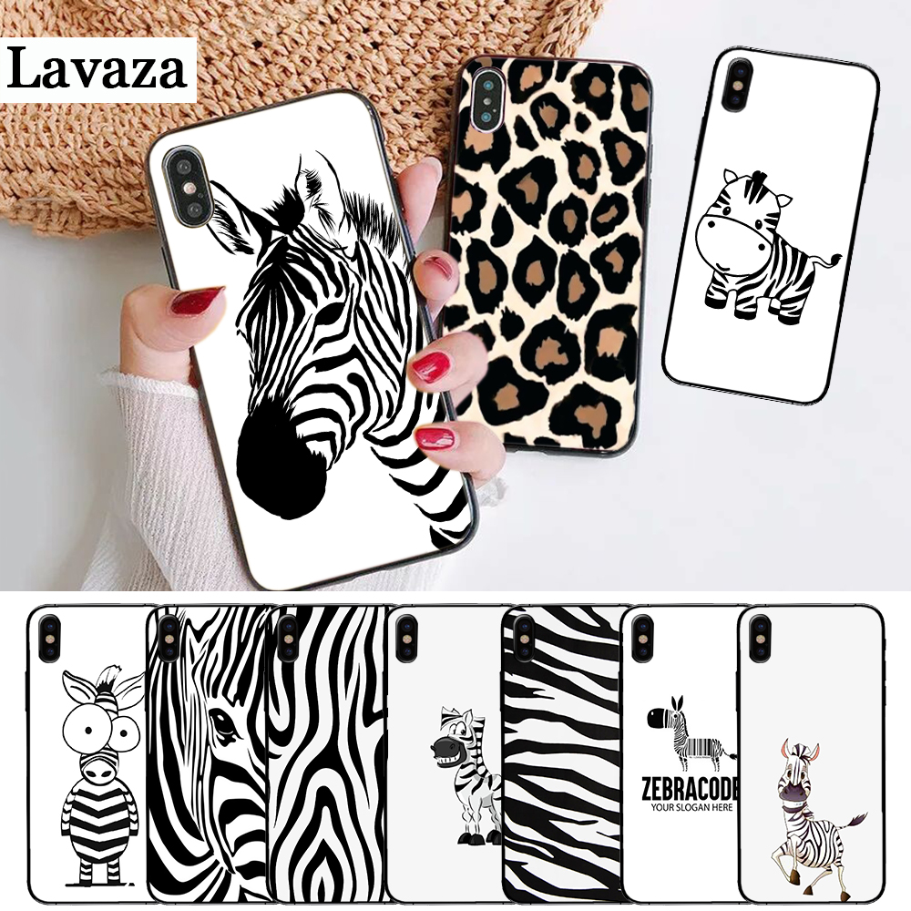 Lavaza Cartoon zebra supreman stripe On Sale Silicone Case for iPhone 5 5S 6 6S Plus 7 8 11 Pro X XS Max XR