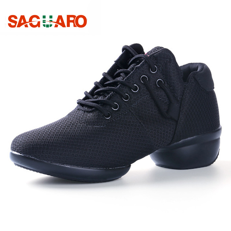 2017 Dancing Shoes for Women Latin Salsa Jazz Modern Dance Shoes Women Dancing Sneakers Ladies Aerobics Shoes Zapatos