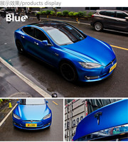 1 52X10m 60inx33 33ft New Chrome Car Wrap Film Lightning Metalic Car Vinyl Film Popular