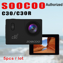 SOOCOO C30R C30 4K Wifi Action Camera Wireless Remote Control Sport Cam 1080P Full HD Waterproof Helmet Bicycle Mini Outdoor DV
