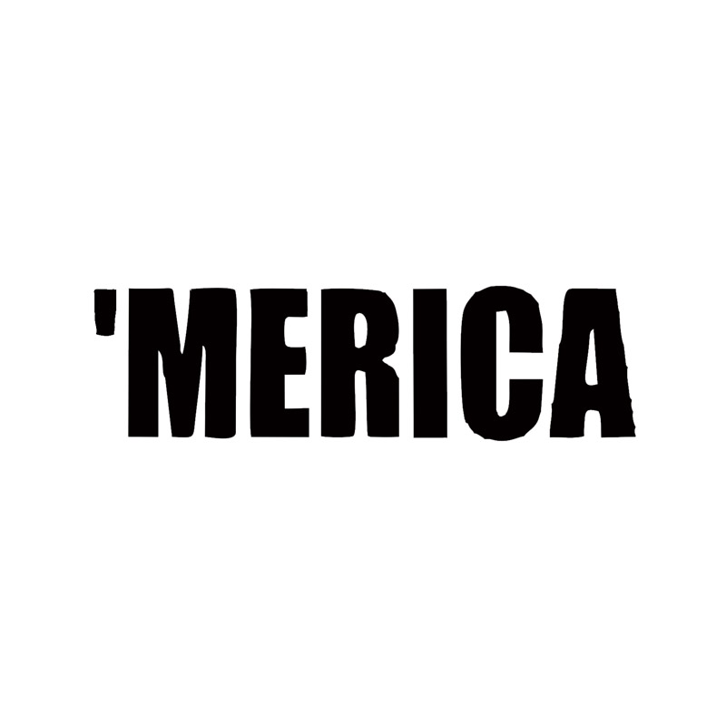 /' MERICA vinyl window sticker car truck decal funny jdm