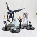 Dos desenhos animados Anime Death Note L assassino Ryuuku Rem Misa Amane ação PVC figuras brinquedos 6 pçs/lote frete grátis