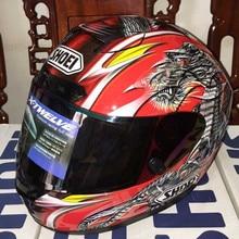 SHOEI X12 dragón Chino motocicleta compite con el casco casco Cuatro Estaciones de los hombres y las mujeres, Capacete
