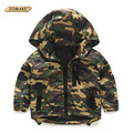 Camouflage Boys Jackets 2016 Spring Kids Outerwear & Coats Children's Clothing Baby Boy Hooded Windproof Jacket Boys Casual Coat