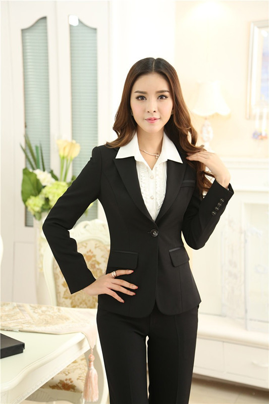 Online Get Cheap Business Woman Uniform Winter Wool -Aliexpress ...