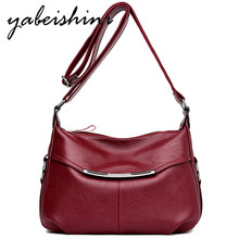 2019 New Women Shoulder Bags For Pu Leather Handbags Designer Crossbody High Quality Solid Messenger