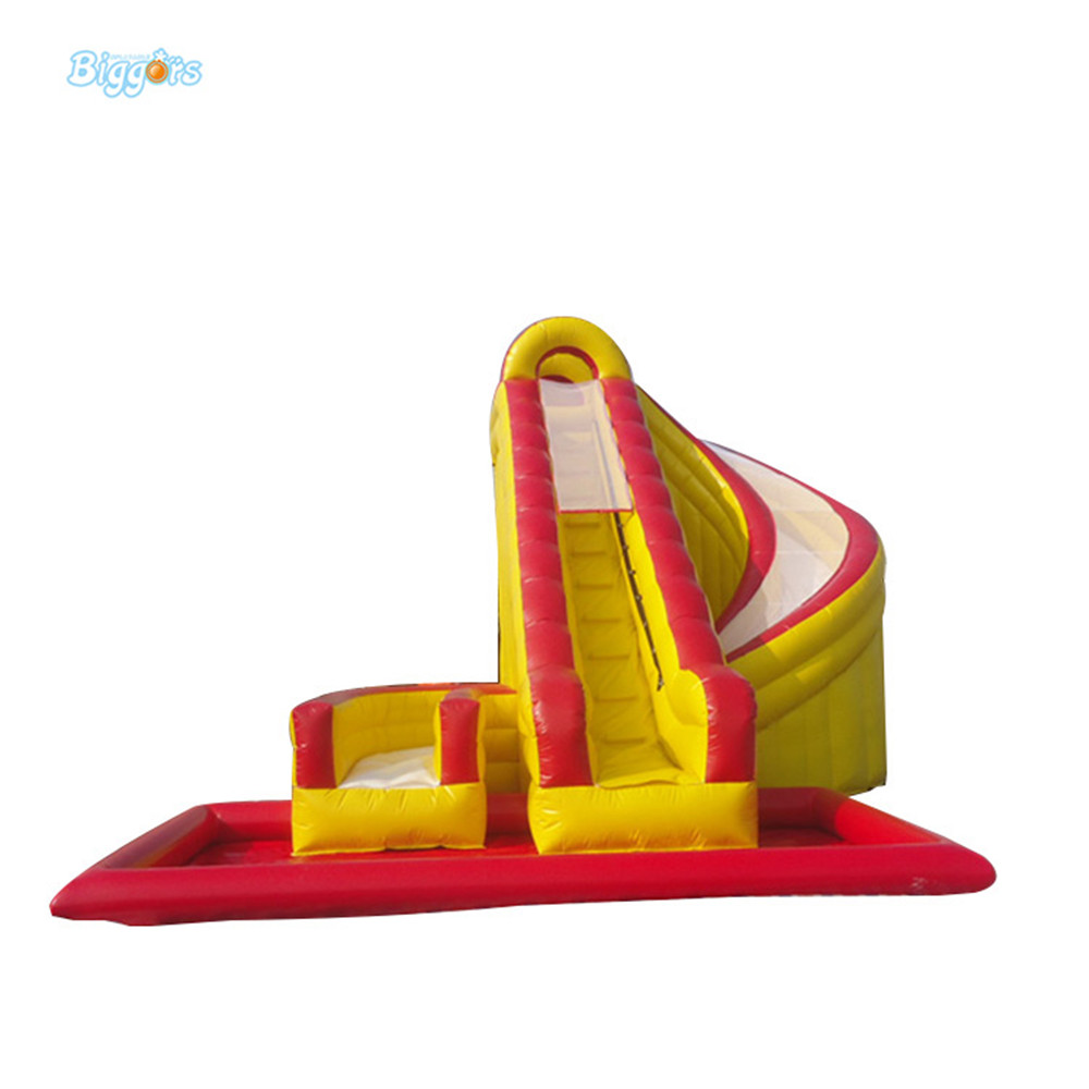 Inflatable amusement park inflatable water pool slide with blowers inflatable biggors amusement park inflatable slide with pool for water games