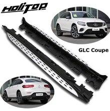 Hot Side Step Side Bar Treeplank Voor Mercedes Benz Glc Coupe 2016 2020, uit Oude Verkoper, Betrouwbare Kwaliteit, Kan Laden 300Kg