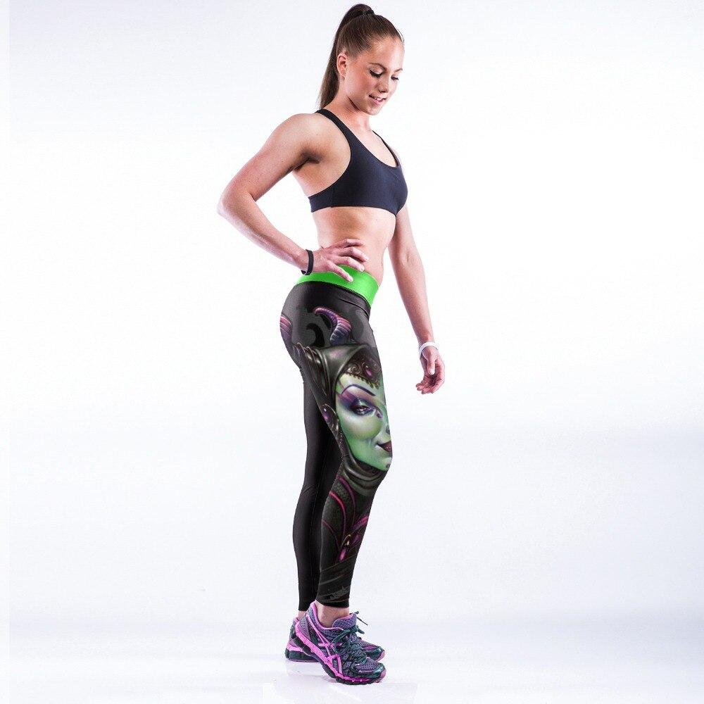 CHARACTER STYLE RED 3D PRINT WOMEN LEGGINGS HIGH WAIST LEGGING PRINTED WOMEN PANTS SLIM FITNESS LEGGINS