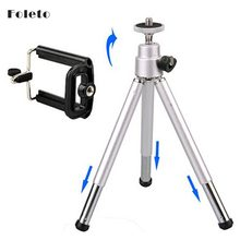 Hot Sale Mini Tripod + Stand Holder for Mobile Cell Phone Kamera Telepon 4 4g 5 5g 6 7 samsung galaxy s2 s4 i9200 i9500 huawei(China)