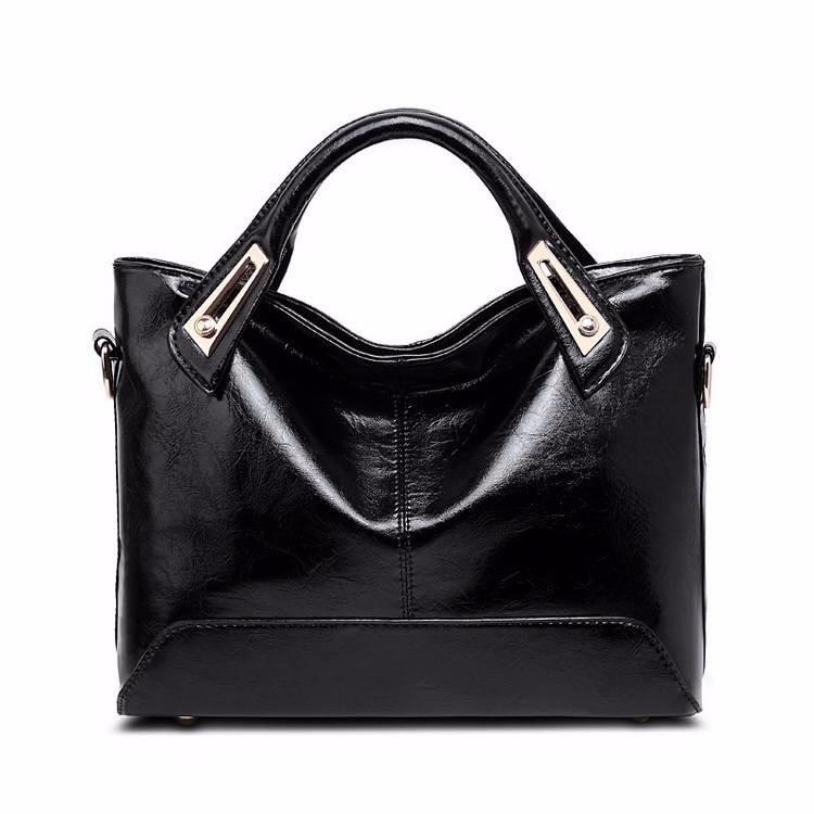 Women Oil Wax Leather Designer Handbags High Quality Shoulder Bags Ladies Handbags Fashion brand PU leather women bags WLHB1398 11