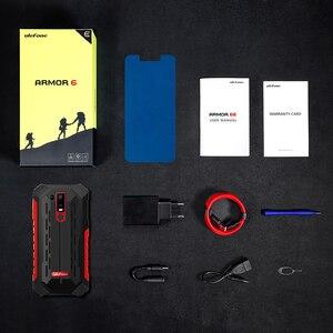 """Image 5 - Ulefone鎧6E IP68防水6.2 """"スマートフォンのandroid 9.0エリオP70 4ギガバイト64ギガバイト顔id nfcワイヤレス充電器携帯電話"""
