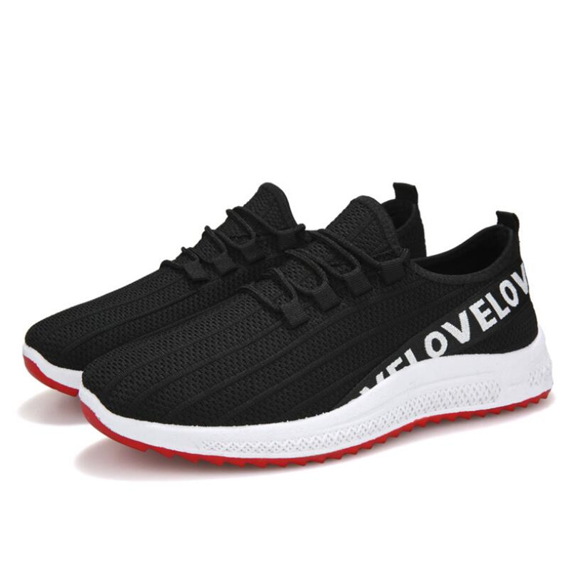 Spring New Men's Sneakers Shoes Mesh Breathable Comfortable Non slip Casual Men's Shoes Lightweight Soft Wear Casual Shoes