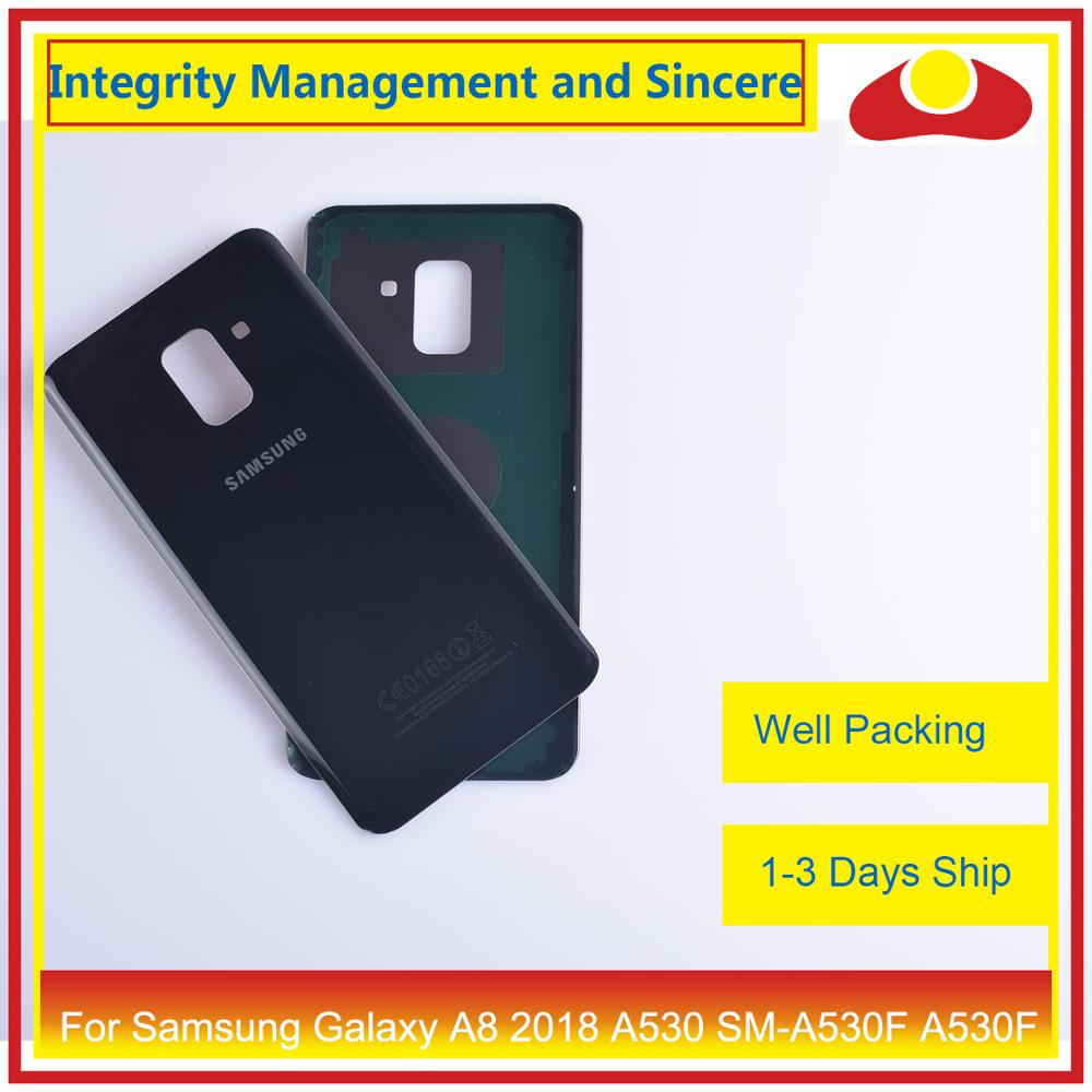 Image 4 - 50Pcs/lot For Samsung Galaxy A8 Plus 2018 A730 SM A730F A730F Housing Battery Door Rear Back Cover Case Chassis Shell A8+ Cover-in Mobile Phone Housings & Frames from Cellphones & Telecommunications