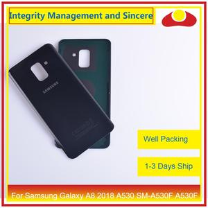 Image 4 - 50Pcs/lot For Samsung Galaxy A8 Plus 2018 A730 SM A730F A730F Housing Battery Door Rear Back Cover Case Chassis Shell A8+ Cover