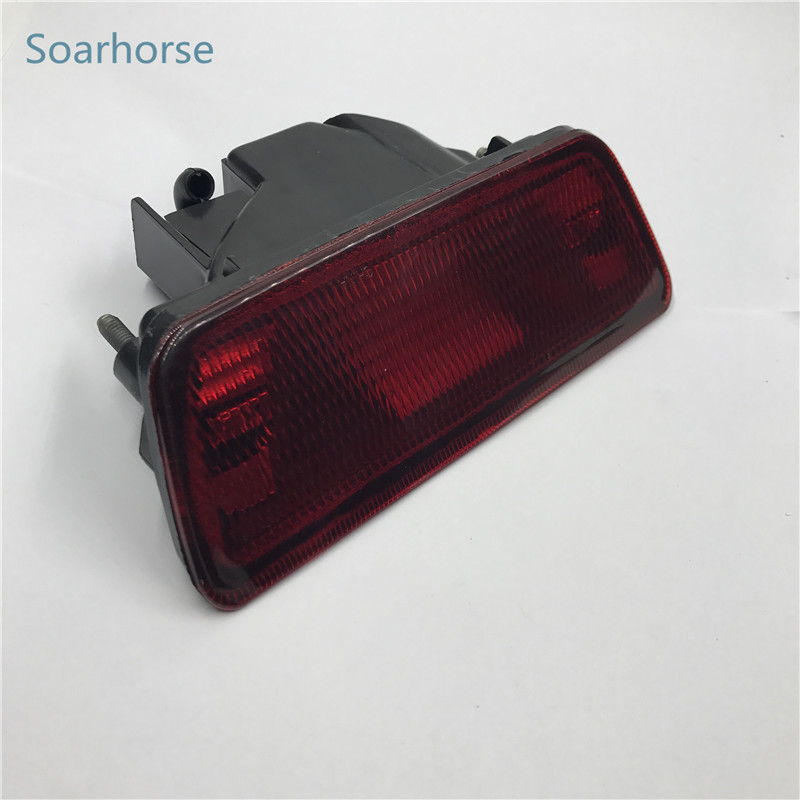 Soarhorse Car rear bumper fog lamp Brake Reflector Lights For nissan juke rogue For XTrail X-Trail T32 2014 2015 2016 2017 2018 brand new microscope achromatic objective lens 4x 10x 40x 100x set free shipping