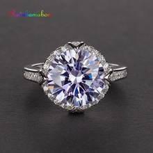 Женское кольцо из серебра 925 пробы с аметистом