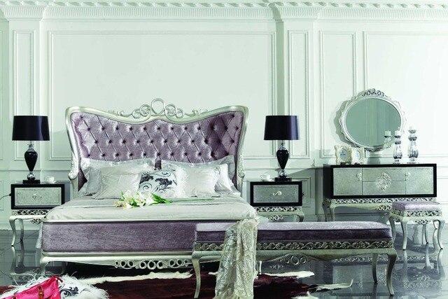 Letti Di Design In Legno : Luxury classic design in legno letto di mobili camera da letto set