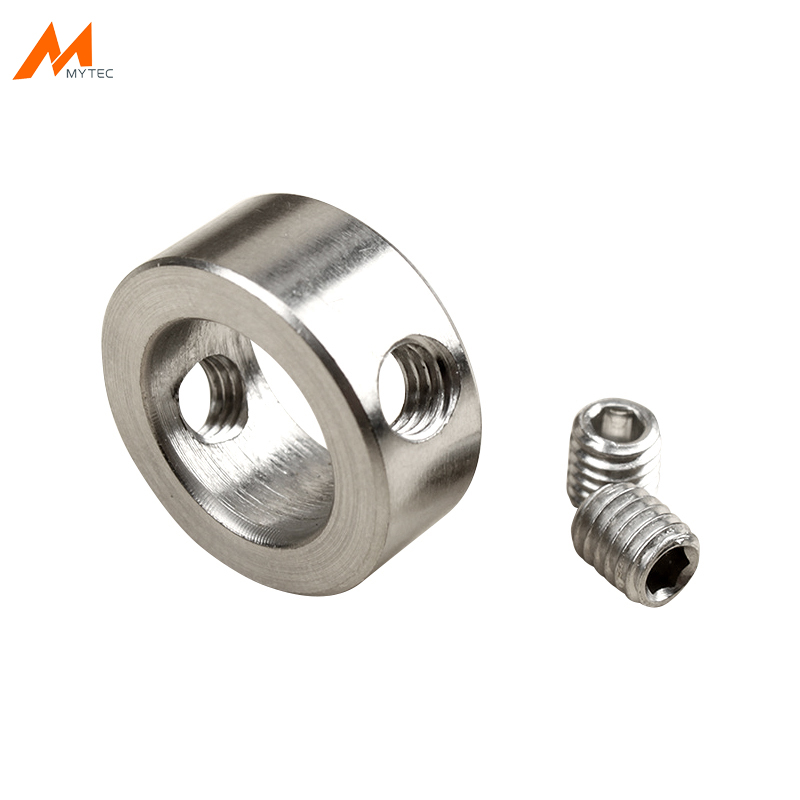 5pcs Stainless Steel Shaft Collar Set Screw Style 3mm 4mm 6mm 8mm 12mm Woodworking Drill Stopper Drill Depth Stop Ring