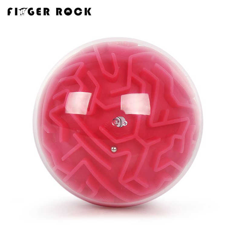 Finger Rock Intelligence 3D лабиринт мяч игрушки лабиринт игра-головоломка дети Ранний Образовательный мозговой тизер головоломка шар-лабиринт трек игрушка