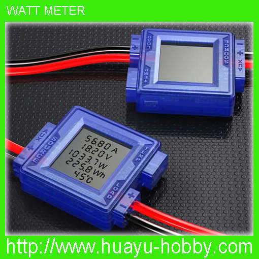Skyrc Multi function Watt Meter Tester DC 7.4-60V For Current Voltage Power Temperature rc Battery