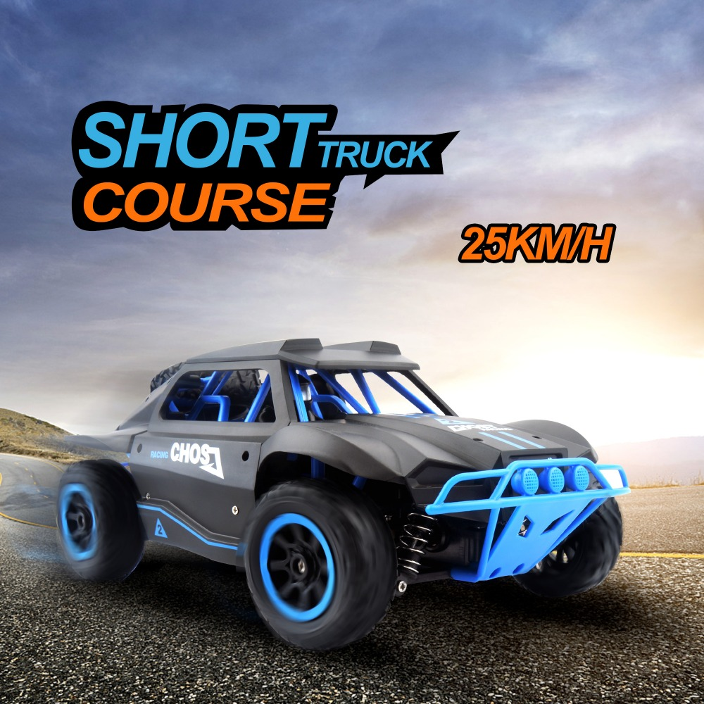 New RC Car 1:18 Short Truck 4WD Drift Remote Control Car Radio Controlled Machine High speed Racing Cars Toys For Boys Machines wltoys 12402 rc cars 1 12 4wd remote control drift off road rar high speed bigfoot car short truck radio control racing cars