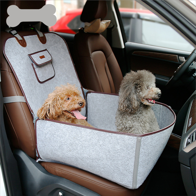 Pet Car Seat Cover Waterproof Basket For Small Supply Carrier Dog Cat Booster