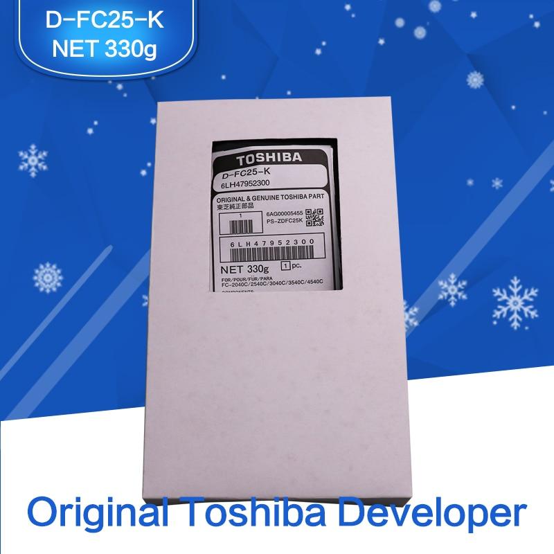 US $72 0 |Developer Original TOSHIBA Copier Printer Parts D FC25 K  Developer 6LH47952300 For Toshiba e STUDIO C 2040/2540/3040/4540-in Printer  Parts