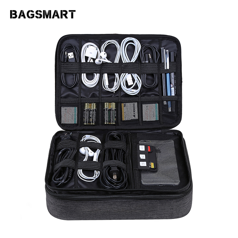 BAGSMART Travel Accessoarer Väskor Datum Kabel Digital Finishing Bag - Resetillbehör - Foto 1