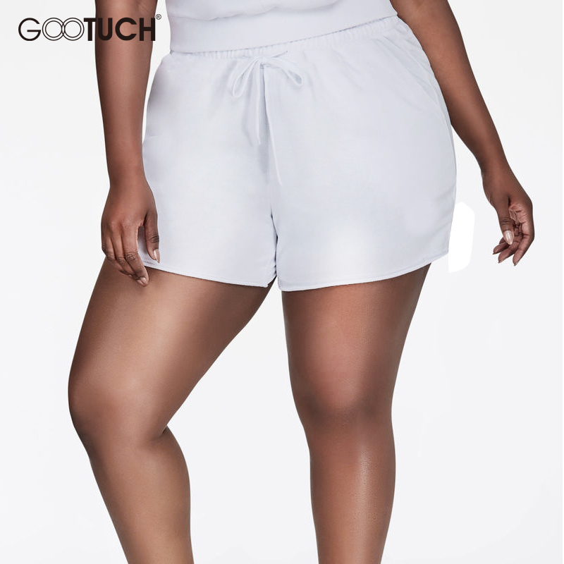 New Style Plus Size 5XL 6XL 7XL Women's Cotton   Shorts   Causal Home   Short   European Size Summer Women Fitness Boxer   Shorts   7304A