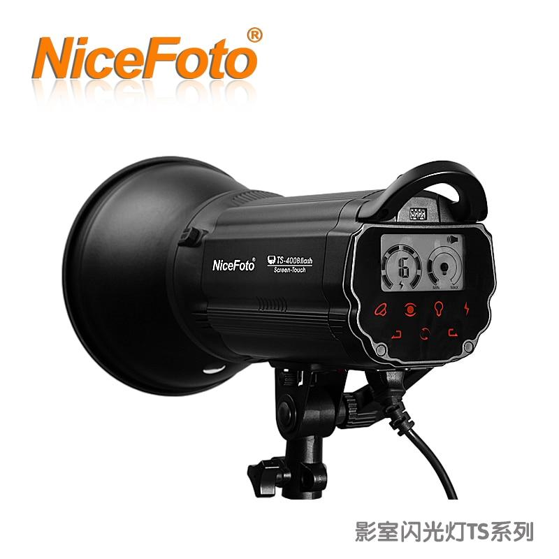 NiceFoto photographic lamp ts-300b series studio flash clothes