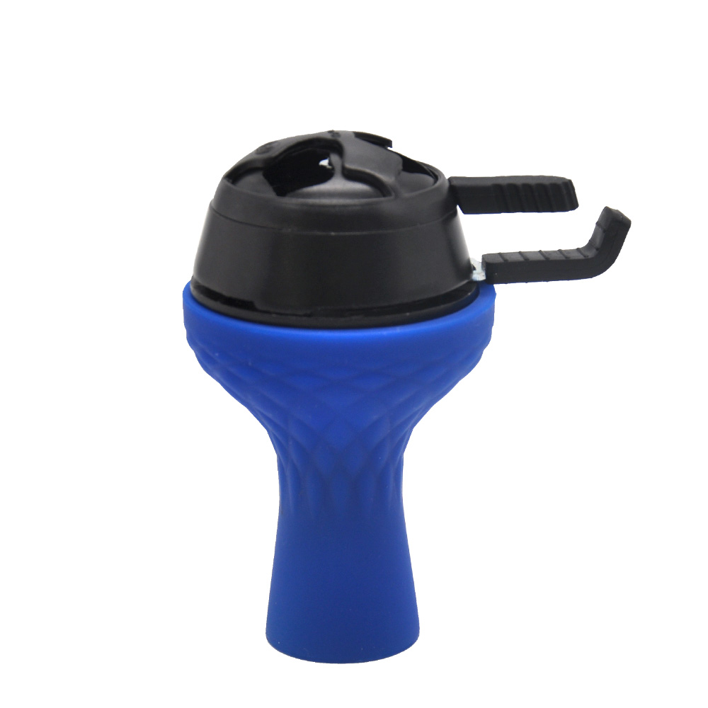 Image 3 - One Hole Silicone Hookah Tobacco Bowl with Kaloud Lotus Shisha Charcoal Holder Burner Chicha Narguile Accessories-in Shisha Pipes & Accessories from Home & Garden