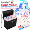 Touchfive 30 40 60 80 168Colors Dual Head Marker Pen Set Copic Sketch Markers Brush Pen