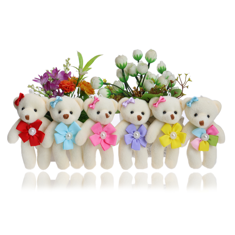 Flower Accessory Colorful Kid/Children Plush Toys MINI 12CM Baby Girls Toys For Wedding/Party/Home decorations Dolls hot sale 12cm foreign chavo genuine peluche plush toys character mini humanoid dolls
