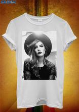 цена на Basic Tops  O-Neck Men Short Sleeve Compression Fun Halsey Sing Ghost Music Sof T Shirts