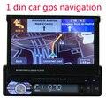 Para a câmera traseira GPS Estéreo de Rádio de Áudio Do Carro MP5 Player Suporte Bluetooth/USB/TF/Aux/touch screen Em Dash 1 DIN 7 polegada