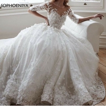 Sophoeniya Ball gown wedding dresses 2019 bride dress