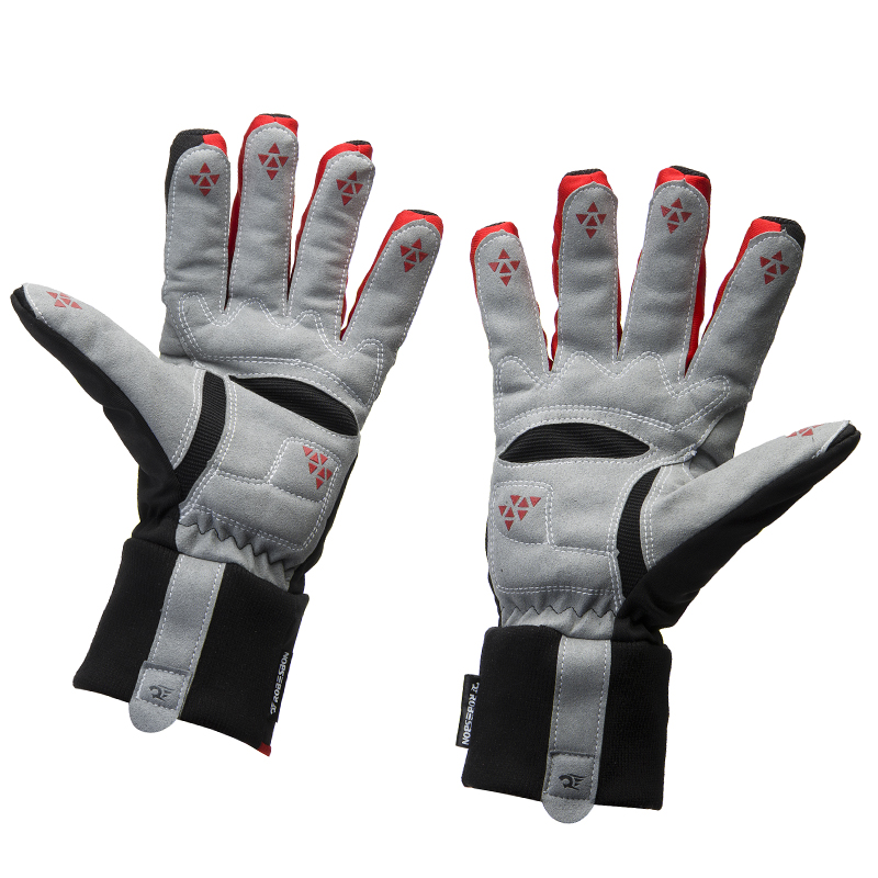 ФОТО Thicken Winter Bike Bicycle Cycling Gloves Silicone Wearable Waterproof Non-slip Luvas Mtb Guantes Ciclismo Invierno ski gloves