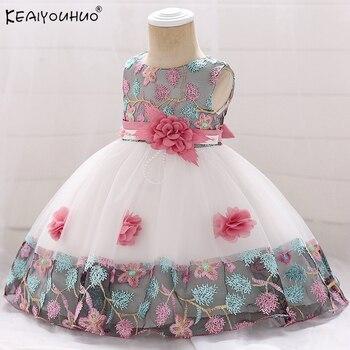 98a5f4085 Vestido Infantil Vestido bebé verano. ropa bebé niña ropa Infantil vestidos  de boda para Niñas Ropa de recién nacidos ropa 1 año Vestido de cumpleaños