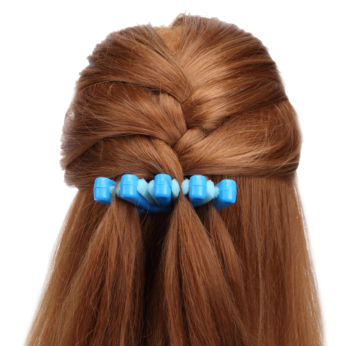 2 Colors Lady French Hair Braiding Tool Weave Braid Roller Hair