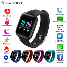 FUWUDIYI A6S Touch Screen Smart Watch Blood Pressure Alarm Clock Heart Rate Monitor IOS Smart Watches Men Fitness Tracker Watch  xanes a6s