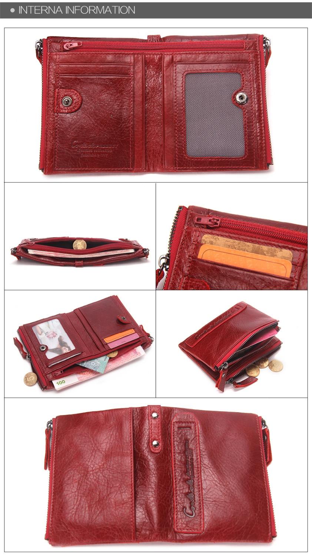 carteiras vermelho id cartão titular moeda bolsa