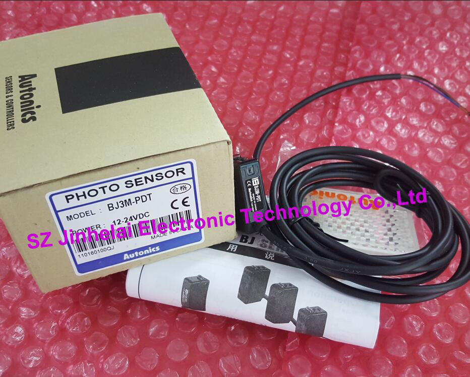 BJ3M-PDT New and original Autonics PHOTO SENSOR Photoelectric switch DC12-24V bj3m pdt new and original autonics photo sensor photoelectric switch dc12 24v