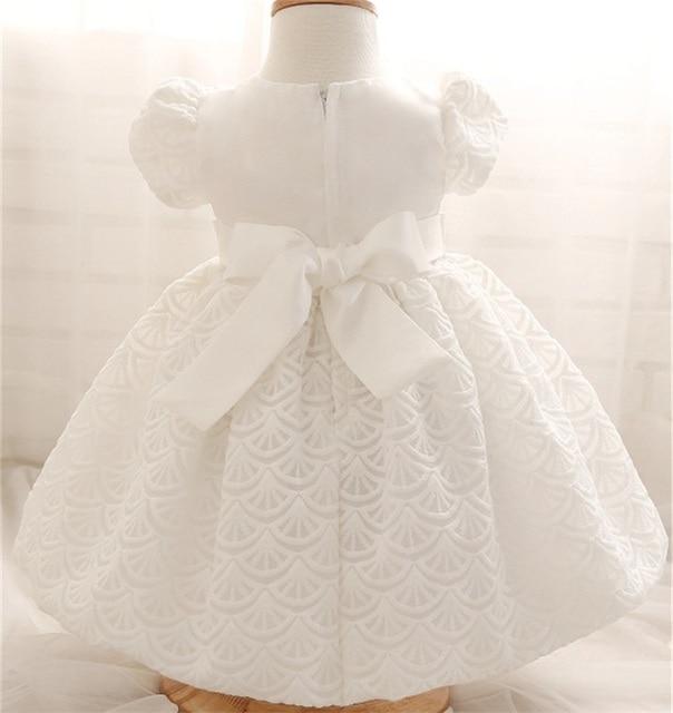 Weiß baby kleider für taufe hochzeit baby mädchen 1st birthday dress ...