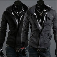 hoodie Hot warm Collar new brand men's Jackets warm coat hoodie cotton warm collar cap Men Free Shipping & Wholesales