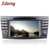 Idoing 2Din Steering Wheel For MercedesBenz E Class W211Car DVD Multimedia Video Player Android7 1GPS Navigation